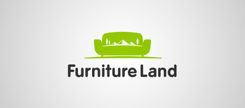 furniture logo designs examples furniture land logo design