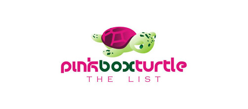 pinkboxturtle logo design ideas
