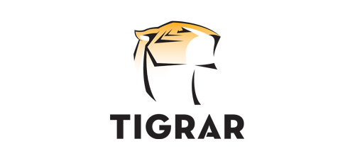 Elegant tiger logo design ideas