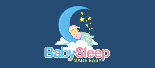 Baby Sleep logo design