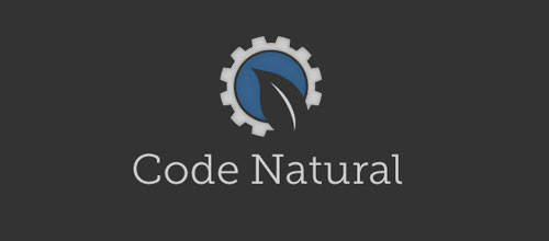 Code Natural logo design examples