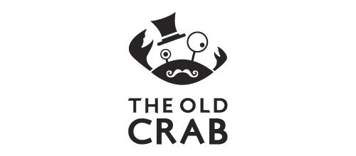The Old Crab Restaurant logo design examples