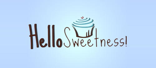 logo design Hello Sweetness