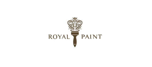 Royal Paint logo design examples