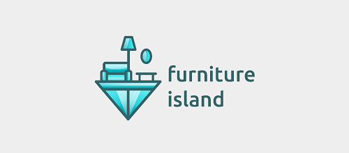 furniture logo designs examples furniture island logo design