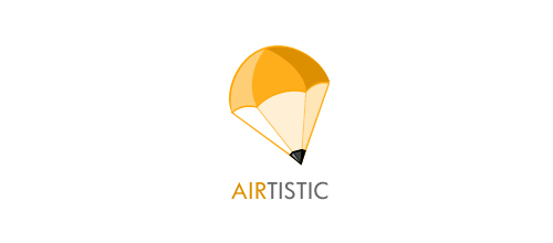 Airtistic logo design examples