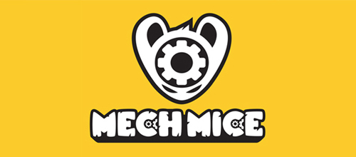 Mech Mice logo design examples