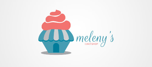 logo design cake shop logo design
