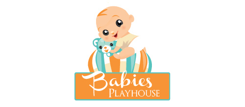 Babies Playhouse logo design