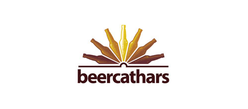 Beer Cathars logo design examples