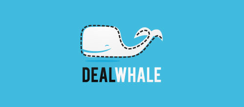 Deal Whale logo design examples