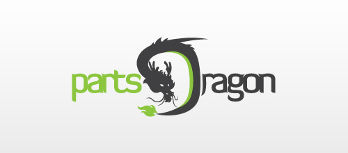 dragon logo design examples Parts Dragon