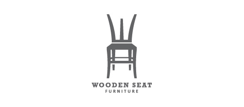 furniture logo designs examples Wooden Seat Furniture