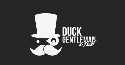 Gentleman ducks logo design examples
