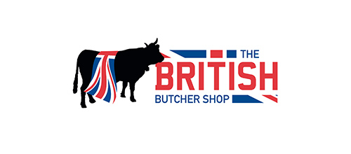 The British Butcher Shop logo design examples