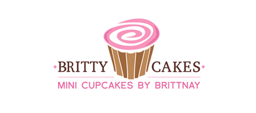 logo design Britty Cakes