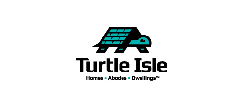 Turtle Isle logo design ideas