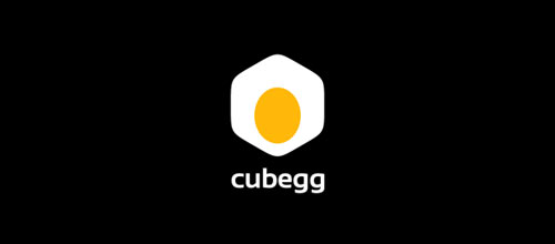 Cubegg logo design examples ideas