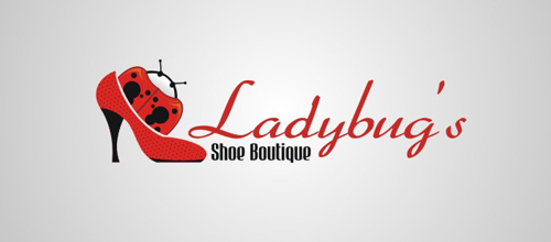 lady bug's logo design examples