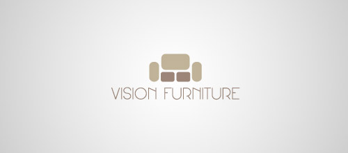 furniture logo designs examples vision furniture logo design