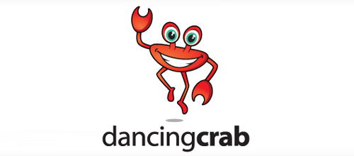 Dancing Crab logo design examples