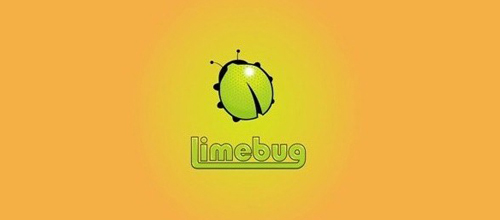 Lime Bug logo design examples