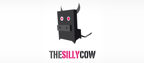 Thesillycow logo design examples