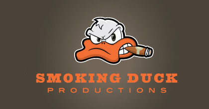 Cigar film ducks logo design examples