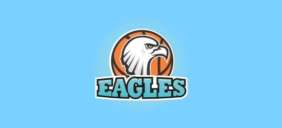 basketball logo design ideas eagles basketball logo design