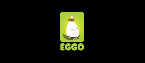 eggo logo design examples ideas