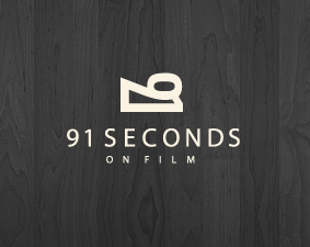 91 seconds examples of Film Logo Design