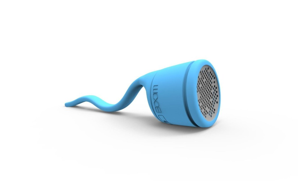 BOOM Swimmer Waterproof Wireless Bluetooth Speaker (Blue)
