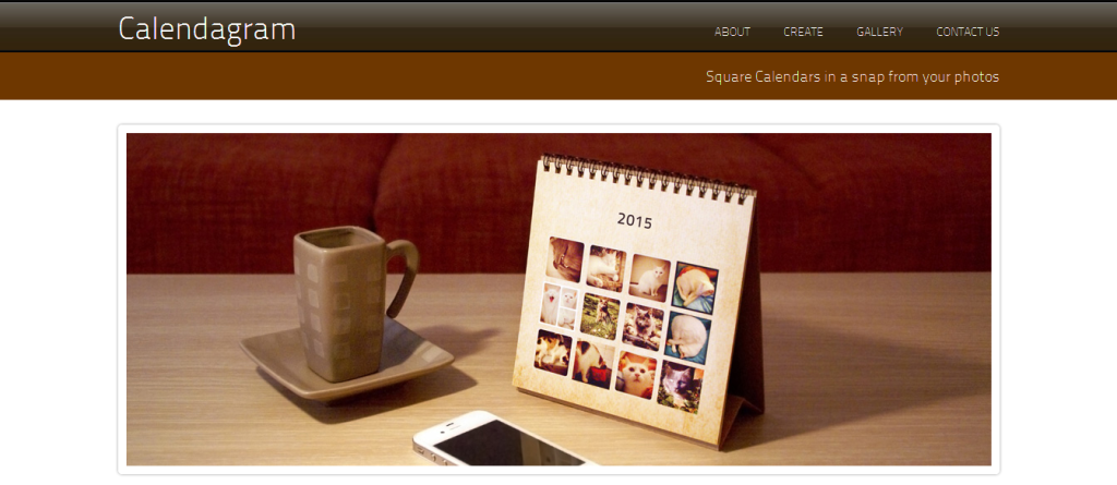 Calendagram - Real Calendars from your photos and Instagrams