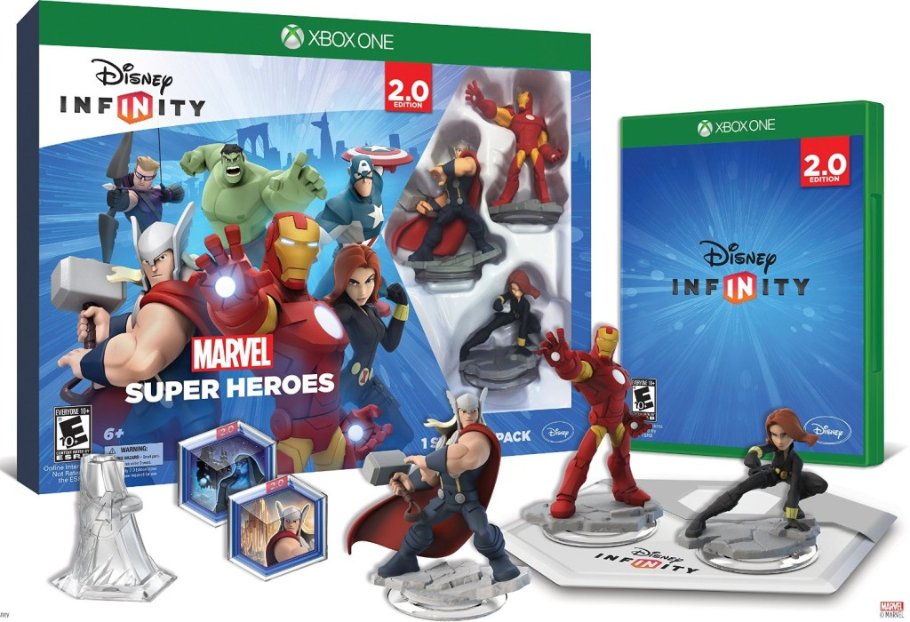 Disney INFINITY Marvel Super Heroes 2 0 Edition Video Game Starter Pack - Xbox One