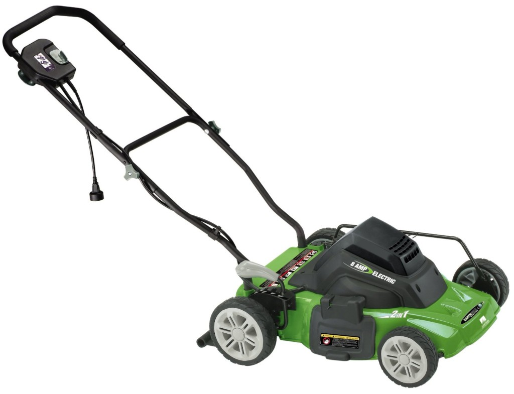Earthwise 50214 14-Inch 8 Amp Side Discharge Mulching Electric Lawn Mower