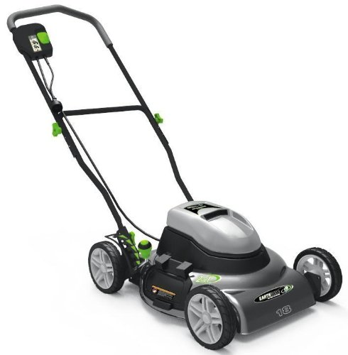 Earthwise 50218 18-Inch 12 Amp Side Discharge Mulching Electric Lawn Mower