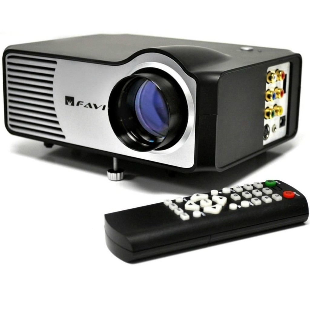 FAVI RioHD-LED-2 Mini Projector with 100 Picture