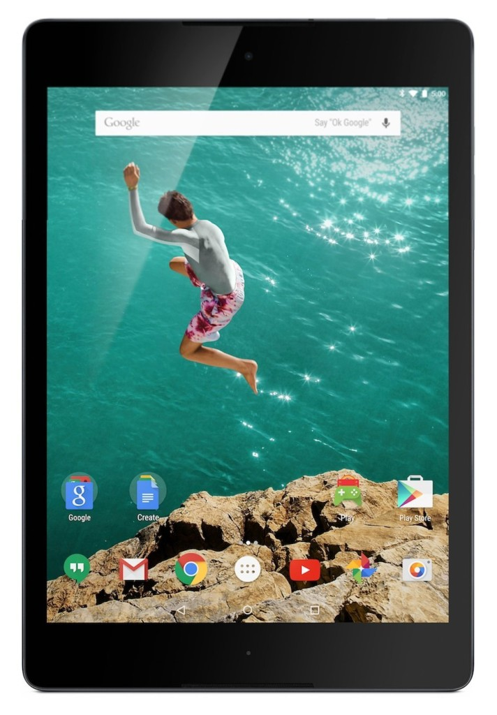 Google Nexus 9 Tablet (8.9-Inch, 16 GB, Black)