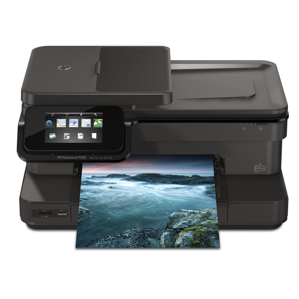 HP Photosmart 7525 e-All-in-One Inkjet Printer