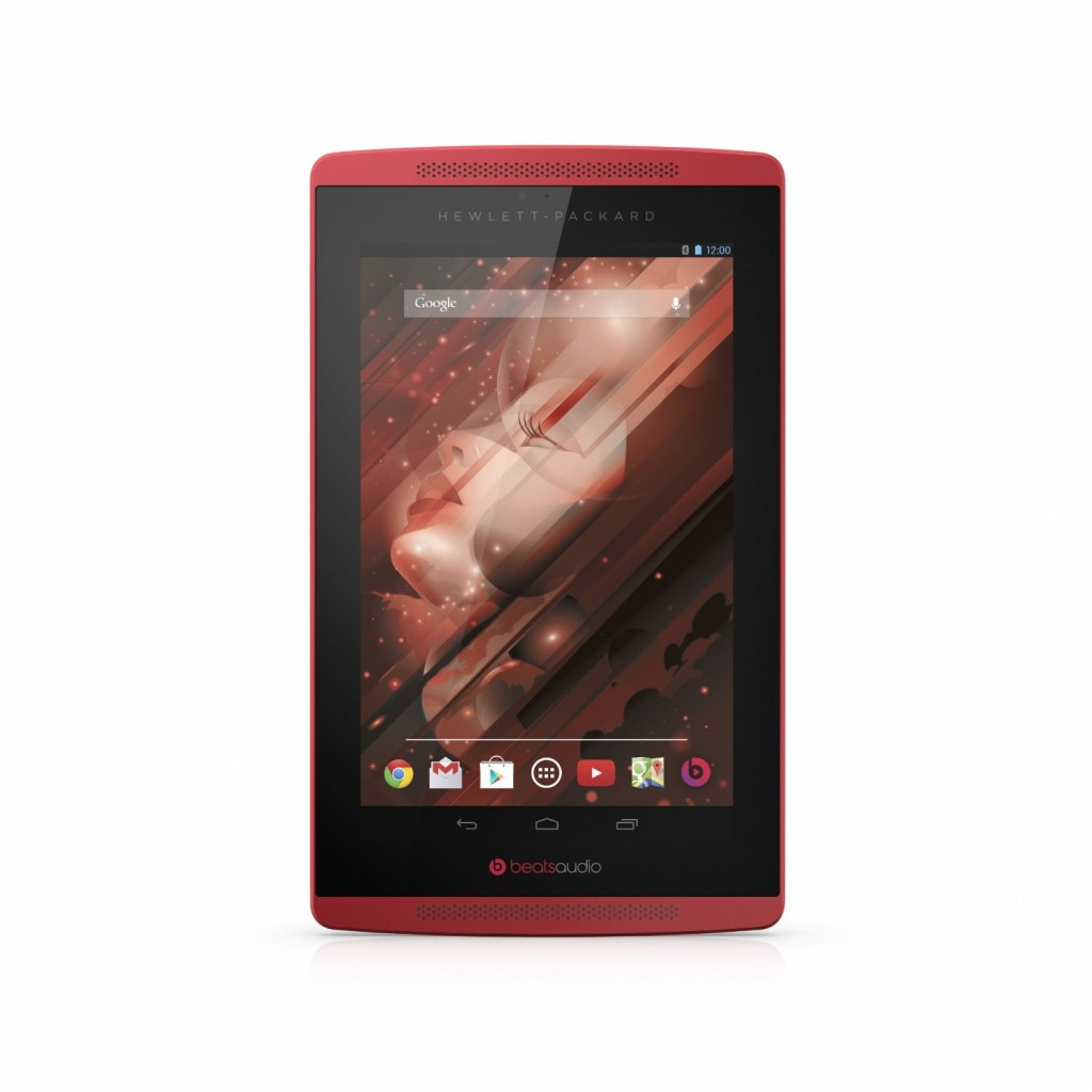 HP Slate 7-4501 7-inch Tablet Beats Special Edition 16GB (Red)