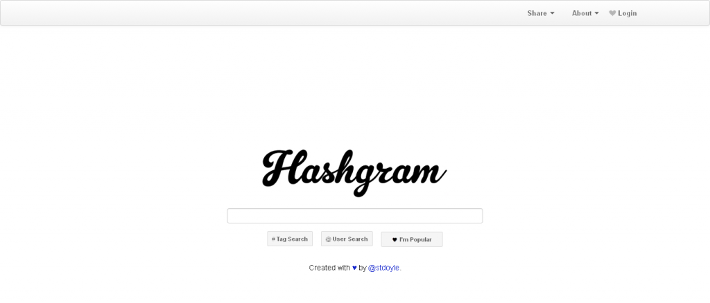 Hashgram instagram apps