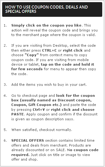 How to use Coupons from TaazaCoupons