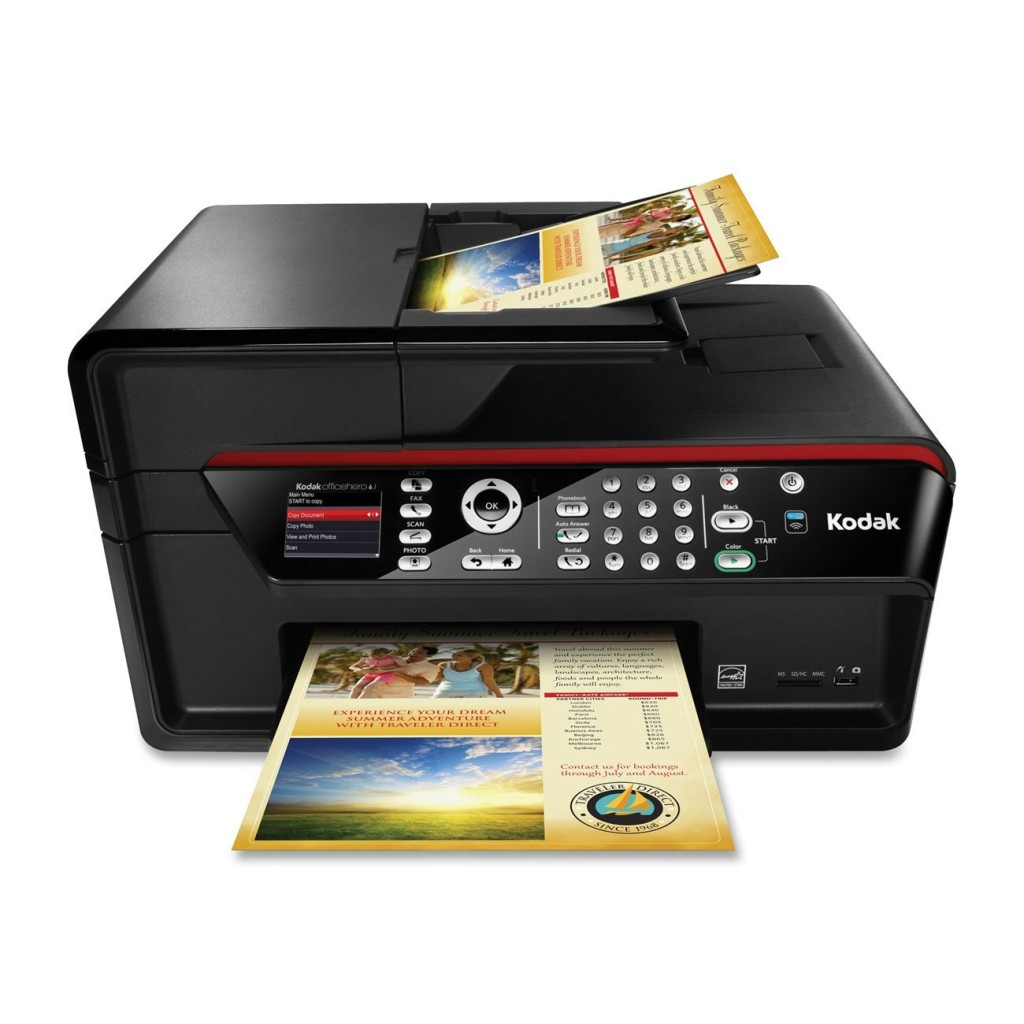 Kodak HERO 6.1 Wireless Color Printer with Scanner, Copier & Fax