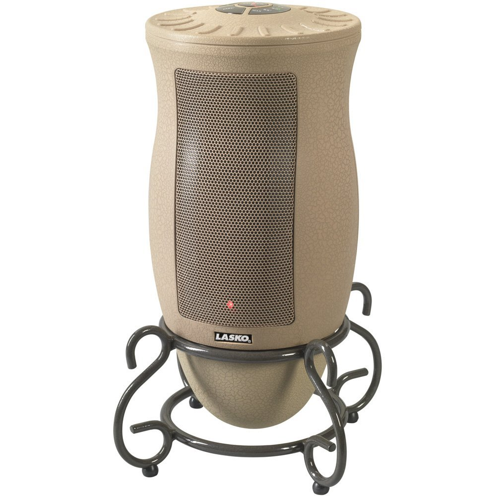 Lasko 6435 Designer Series Ceramic Oscillating Heater with Remote Control.