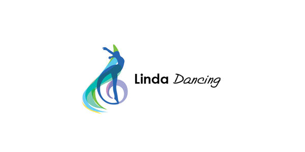 Linda Dancing logo design
