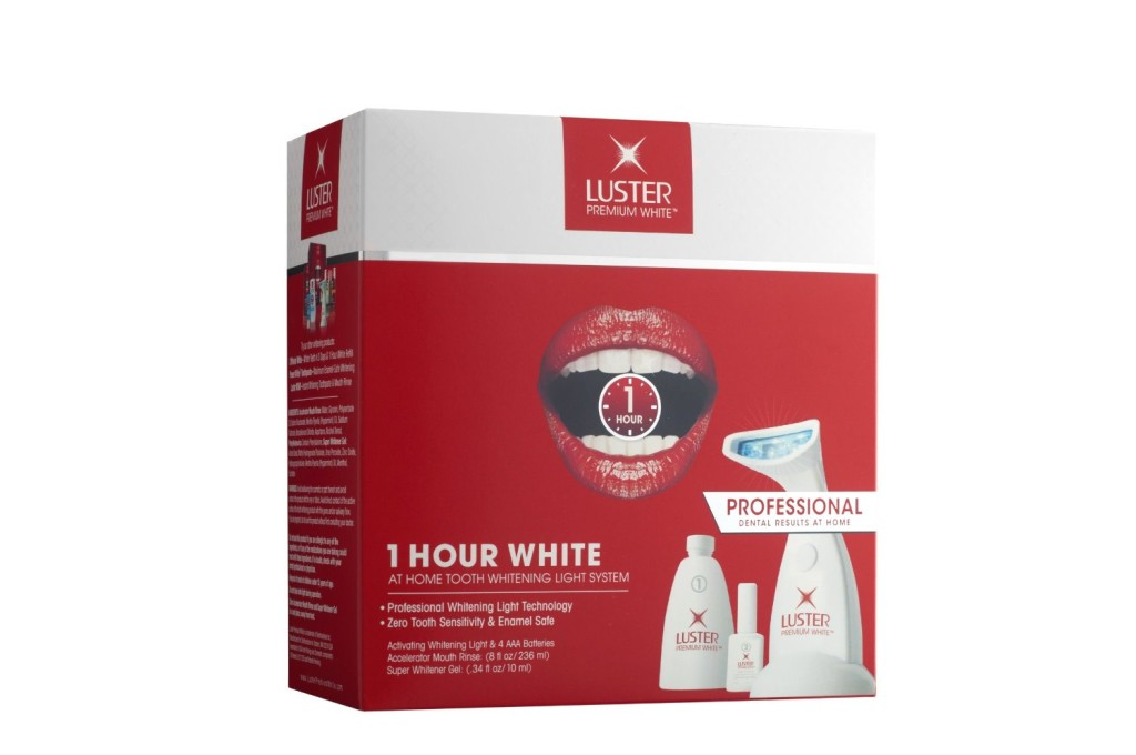 Luster Premium White 1 Hour White Light Tooth Whitening System
