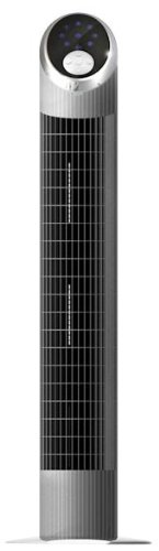 Miallegro 1760 Air Ionizer Tower Fan with Remote Control Oscillates Internally