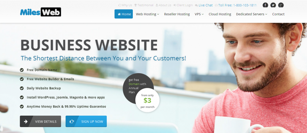 Website Hosting Packages and Domain Name Providers