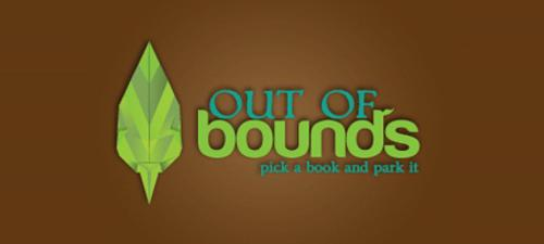 Origami Logo Design Out of Bounds
