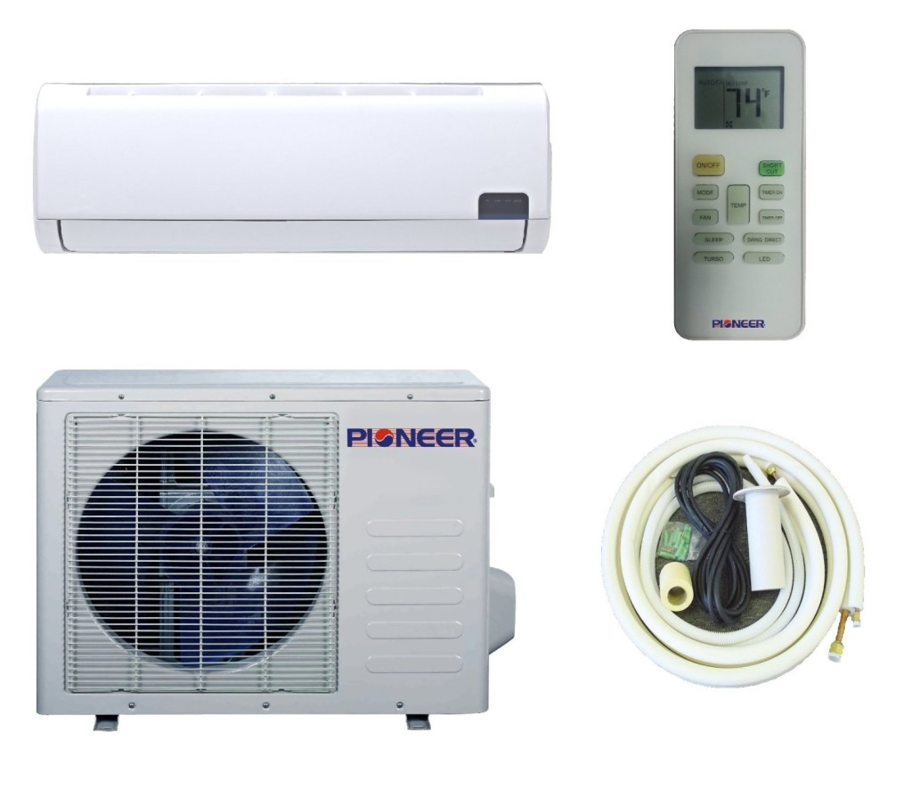 Mini split heat pump midea custom built multi 25 zone Ductless ac